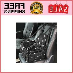 Portable Pet Dog Booster Car Seat Travel Carrier Pets Under