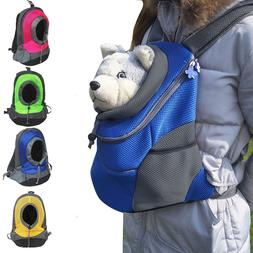 Portable Pet Dog Cat Backpack Carrier Head Out Travel Chest