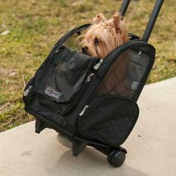 Roll Around Pet Carrier - Large/Black
