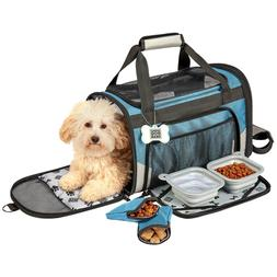 Mobile Dog Gear Small Pet Carrier Plus With Seat Belt Clips