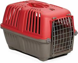 Tiny Size Pet Carrier 19-INCH Hard-Sided Dog/Cat Carrier In
