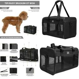 Usa Small/Large Cat/Dog Pet Carrier Soft Sided Comfort Bag T