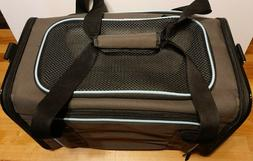 X-Zone Pet Carrier, Airline Approved. Mesh entry door  Brown