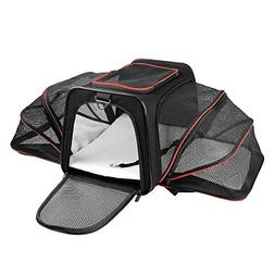X-ZONE PET Expandable Travel Dog Carrier with Fleece Mat, Mo